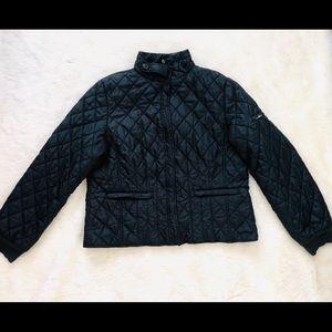 LL Bean Womens Black Jacket Puffer XL